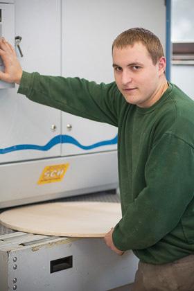 Mathias Wessely - Tischlereitechniker Lehrling